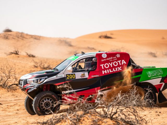 Yazeed Al-Rajhi will be hoping that a full itinerary is availabe for him to challenge for victory on Saturday.
